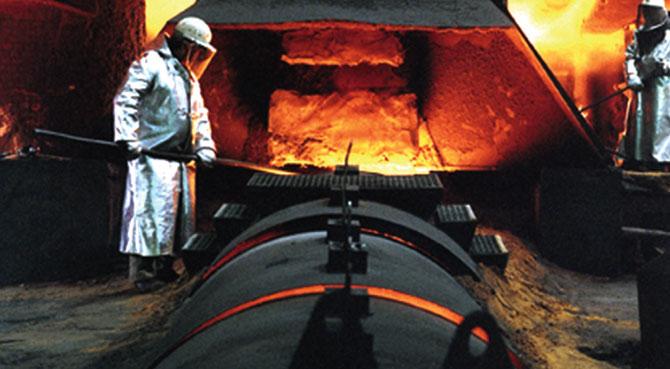 Ocak-Ekim Döneminde Türkiye'nin Ham Çelik Üretimi 13.3 Arttı