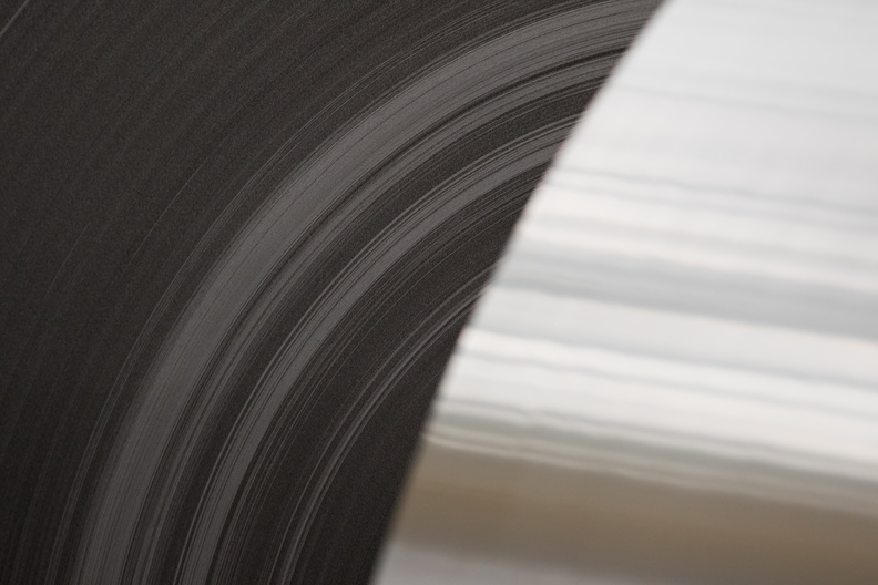 Close up shot of cold rolled coils