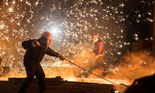 Ocak-Nisan Döneminde Türkiye'nin Ham Çelik Üretimi % 10.5 Azaldı