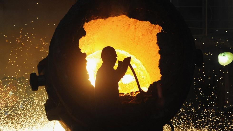 Ocak-Ağustos Döneminde Türkiye'nin Ham Çelik Üretimi % 10.5 Azaldı